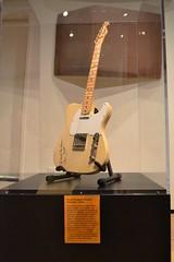 Steve Cropper's Fender Telecaster at Stax Museum Memphis
