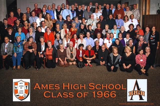 1966 AHS 45th Reunion Class Photo held Sep 2011