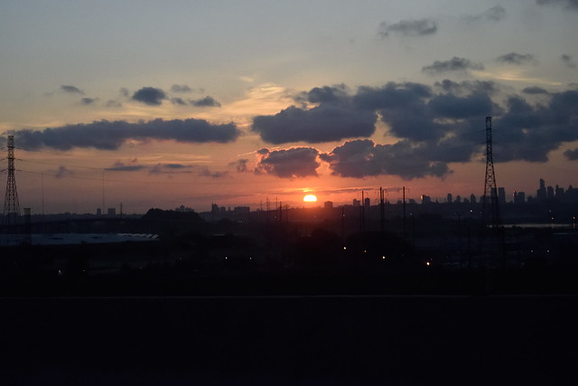 Sunrise over NYC