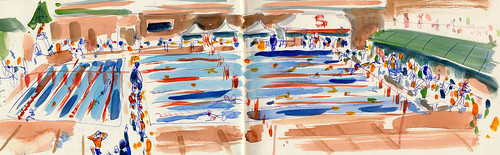 Sketchbook #91 - Swimming