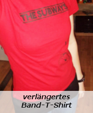 verlängertes Subways-T-Shirt