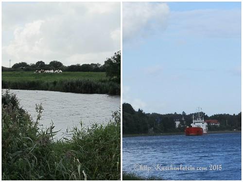 ©Eider und Nordostseekanal Collage