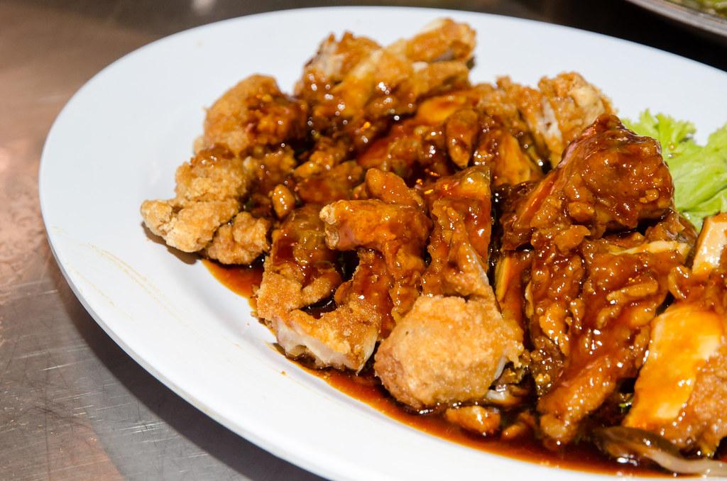 Fried Chicken at Tsunami Village Cafe