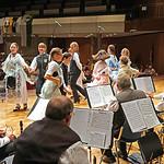 Tanzvorführung der Karlsruher Trachtengruppe