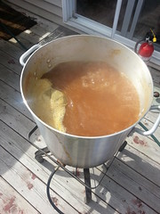 Brew Day! Imperial Brown Pumpkin Ale. Name TBD.