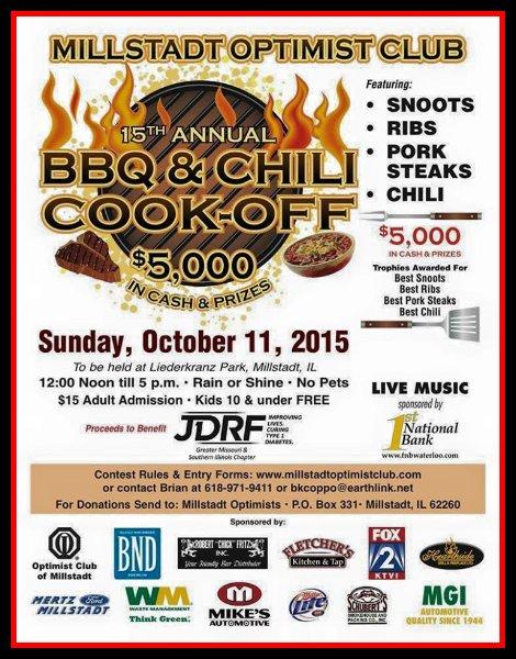 Millstadt BBQ & Chili 10-11-15