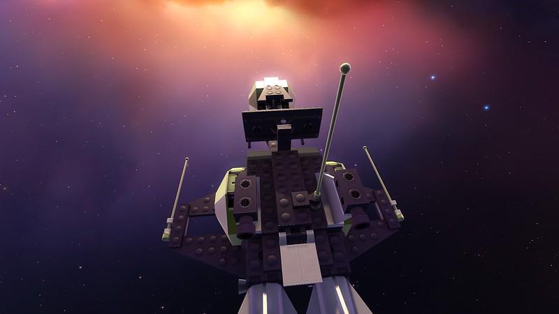 Blacktron II Frigate