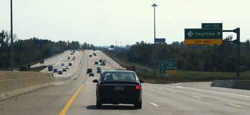 Interstate 75, Saginaw, Michigan