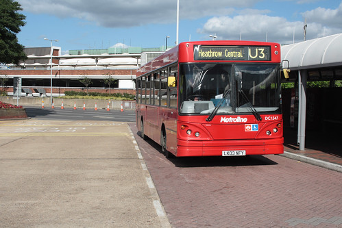 Metroline West DC1547 LK03NFY