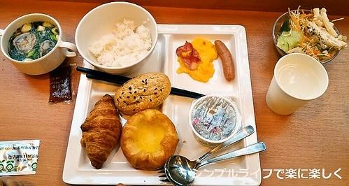 東京ホテル、朝食2日目