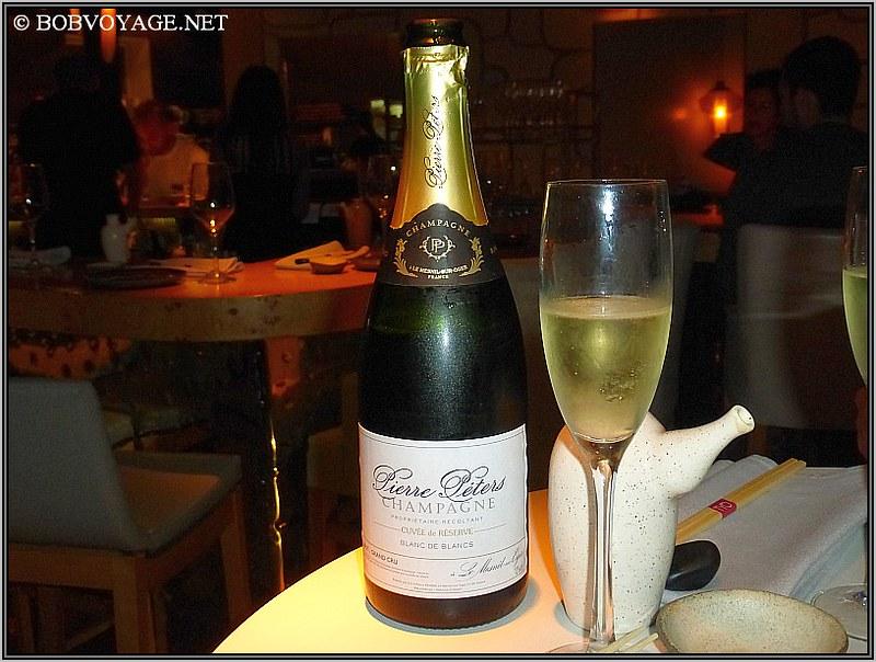 Pierre Peters Blanc de blancs Cuvee de reserve Brut N.V.  Champagne ב- tyo