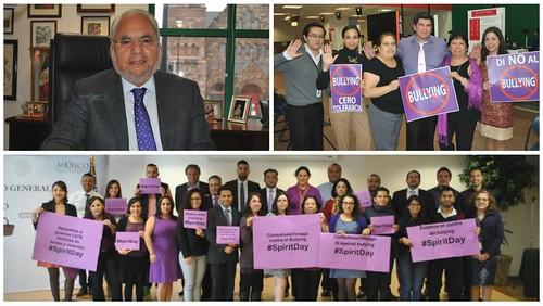 Consulado de México se une a campaña Spirit Day contra bullying LGBT