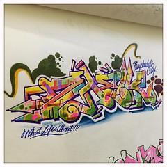 #daily #sketchbook #wildstyle #outline