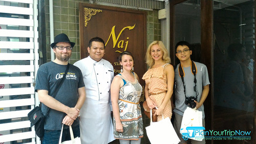 Mitch, Chef Ohm, Natasha, Natalia and Mark