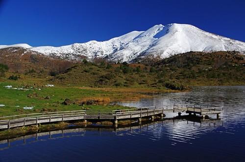 rando lac pic neige pyrénées étang pirineos balade sommet ariège lers leport couserans barrès fontanette étangdelers