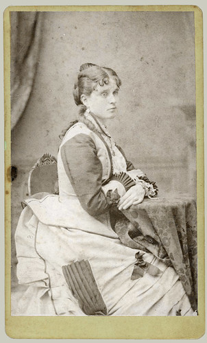 CDV Seated Woman