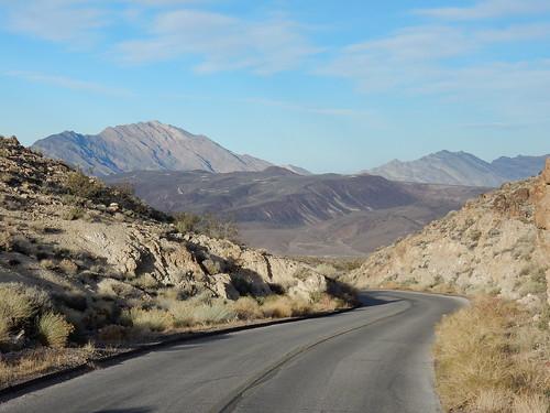 Death Valley NP - bergweg