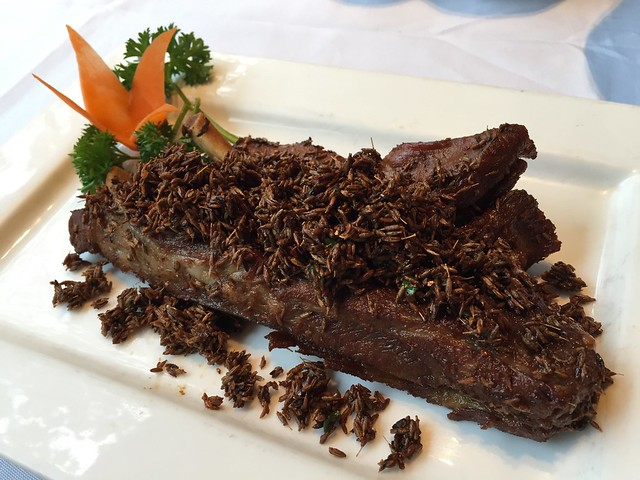 Fried pork ribs with chilli and cumin - Guyi Hunan