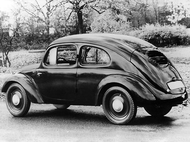 Volkswagen V3 Prototype. 1936 год