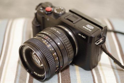 AR 50mm 1.7+FUJIFILM X-M1