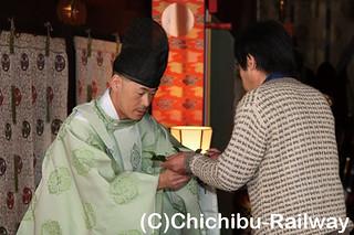 代表玉串奉納(5名様)☆秩父神社昇殿正式参拝