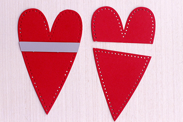 Pocket How-To for Stitched Primitive Heart by Papertrey Ink