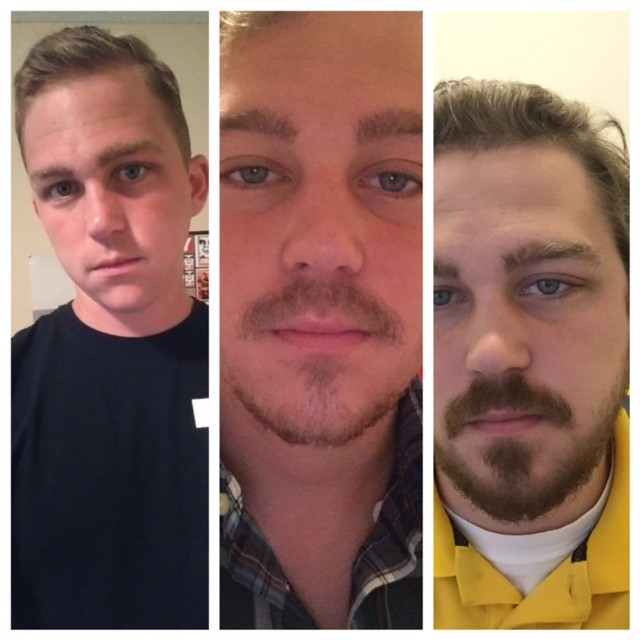 Men of Reddit; At what age did your facial hair fully