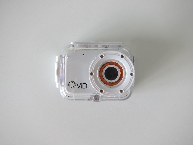 ViDi Action Camera - With Waterproof Case - Front