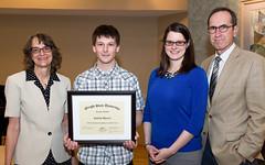 justin-myers-2016 Student Employee Award