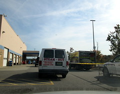 Steam Out Van And Box Truck.