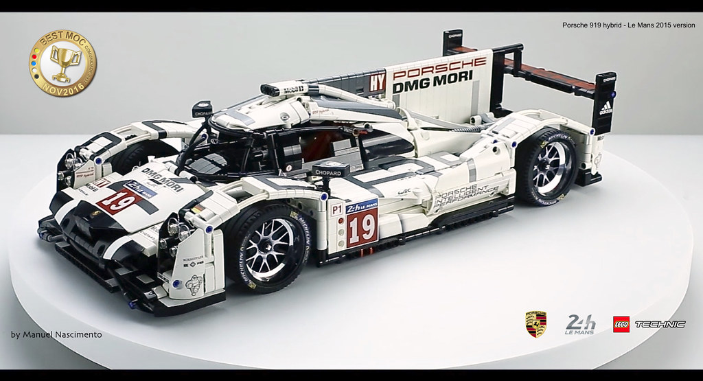 Porsche Le Mans LEGO moc