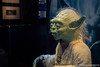 Yoda at Star Wars Identities Exhibition London