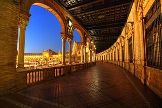 Seville Blue Hour