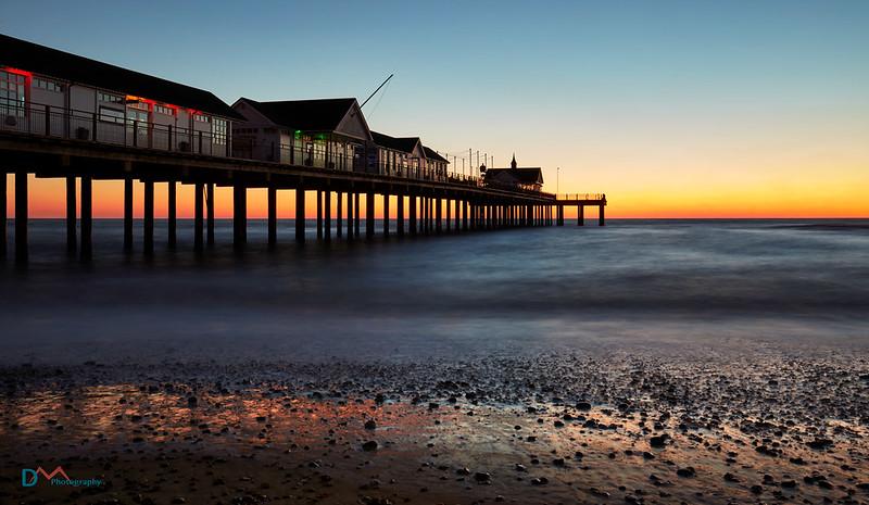 Southwold Pier Pre-Dawn