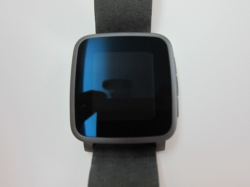 Pebble Time Steel Watch - Front
