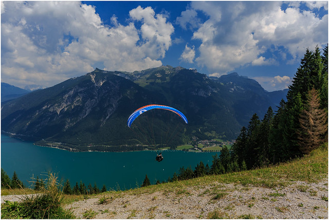 Wings to Fly above Achensee