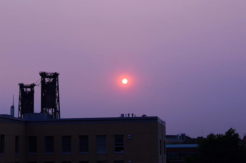 Smokey Sunrise