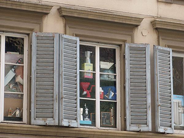 fenêtres vitrines