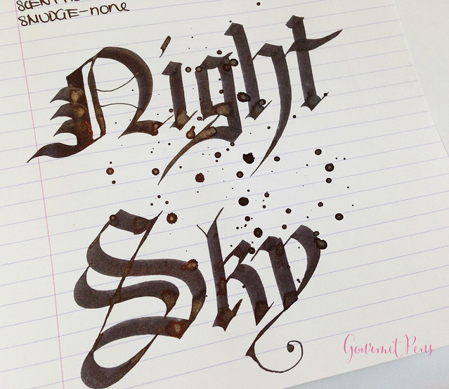 Ink Shot Review Diamine Night Sky (7)