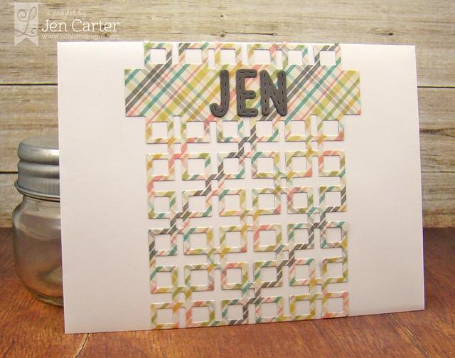 Jen Carter Lattice Envelope wm