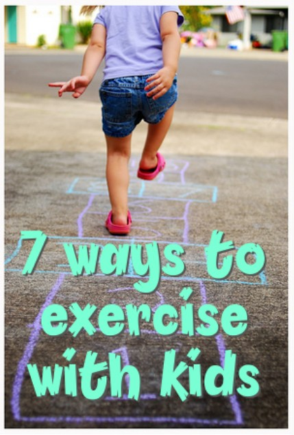 ways to exercise with kids