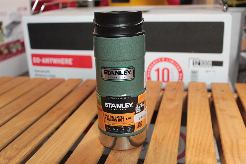 スタンレーーSTANLEY クラシックワンハンドバキュームマグ0.35L