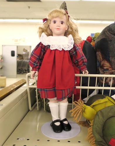 school doll
