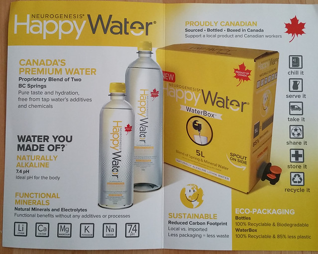 Happy Water info 2 of 2