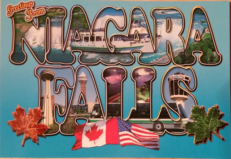 Canada - Niagara Falls - Large Letters