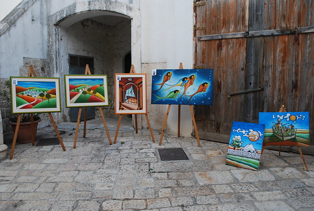 Rutigliano-L'arte condivisa in Cortile Castello (9)