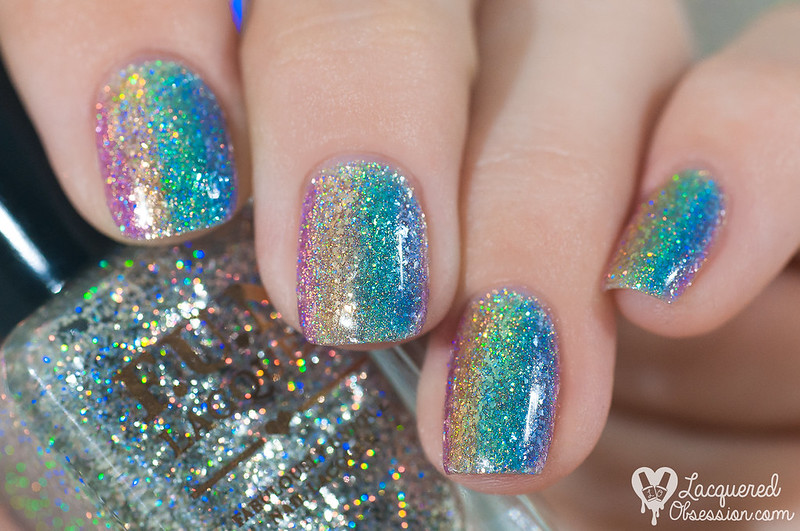 31DC2015 Day 09: Rainbow nails