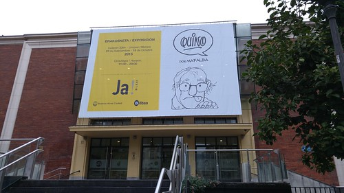 Exposición de Quino ( y Mafalda) en Bilbao