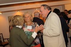 Chancellor's Holiday Art Scholarship Reception, Chancellor's residence, September 24, 2015