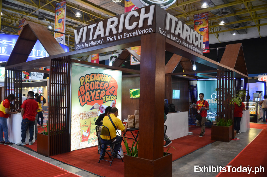 Vitarich Exhibit Booth